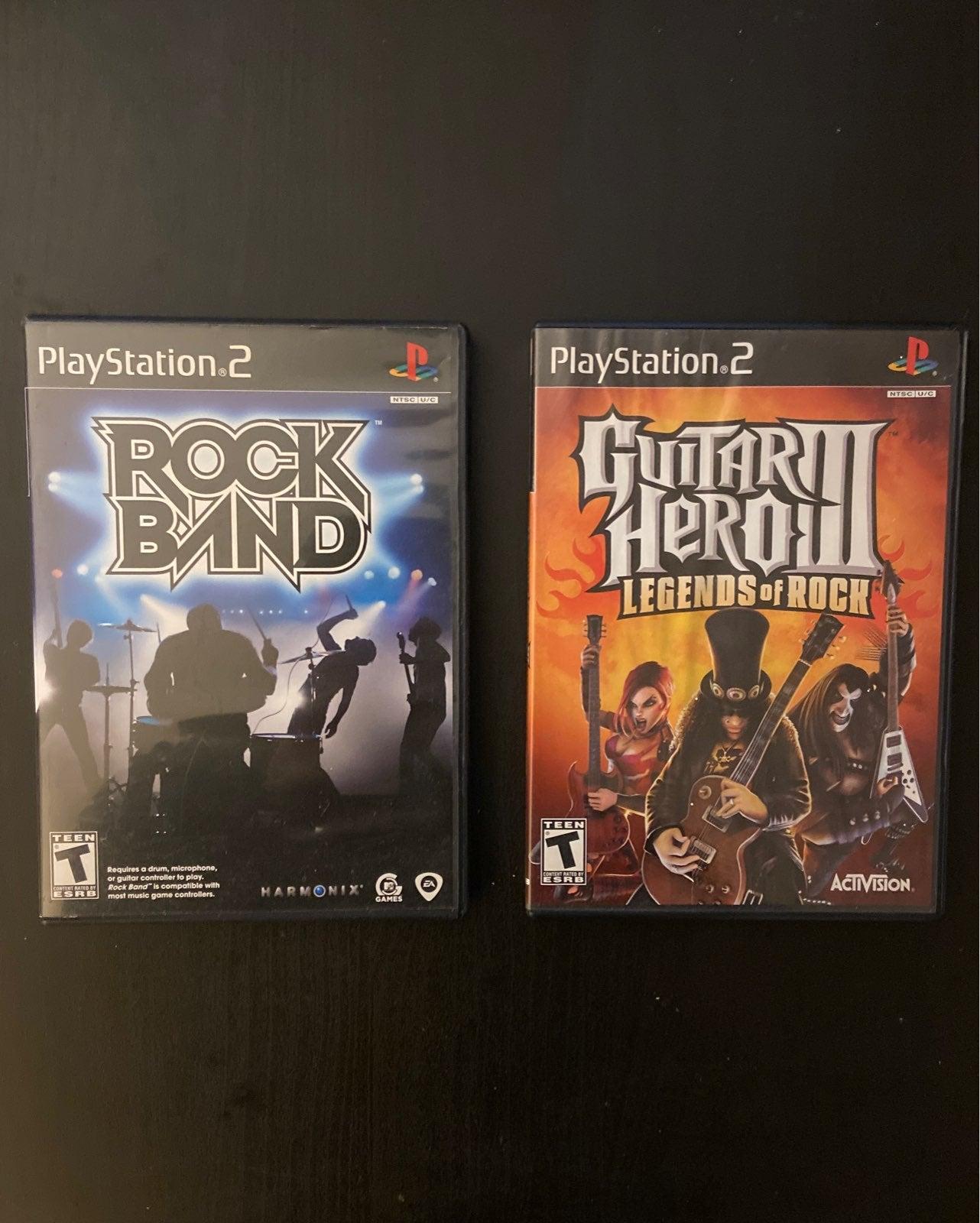 Rock Band/Guitar Hero