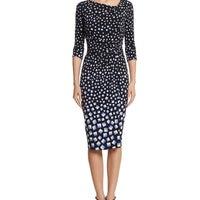 581c9e2888992 White House Black Market Striped Dress. $20. NWT WHBM Geo Print Dress Size 2