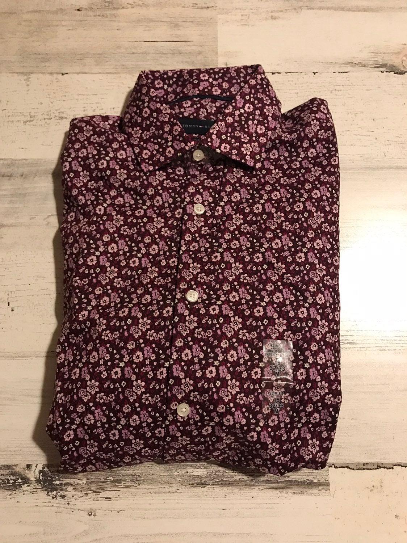 TOMMY HILFIGER MENS 15 NECK DRESS SHIRT