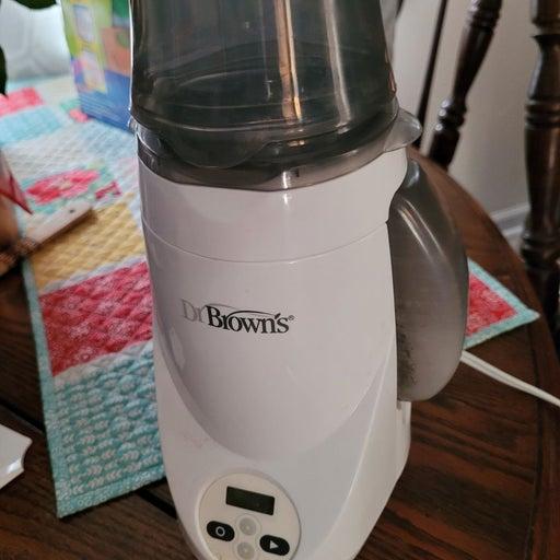 Dr. Browns bottle warmer