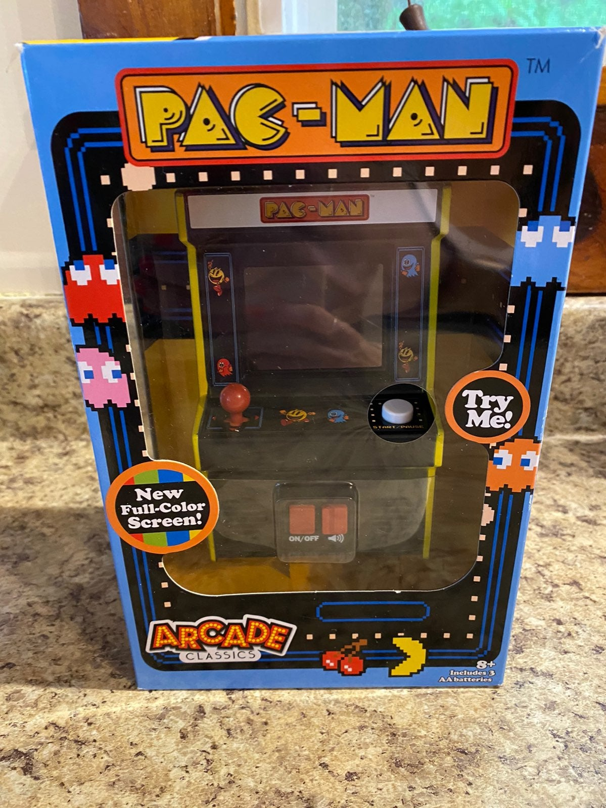 Pac man classic arcade