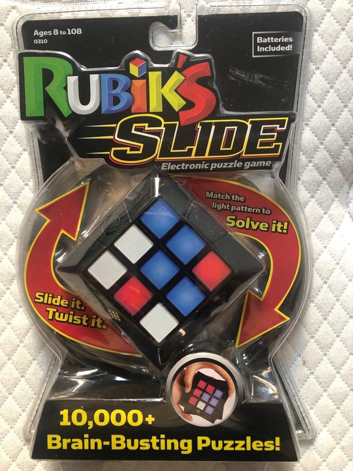 Rubik's Slide - Electronic puzzle game