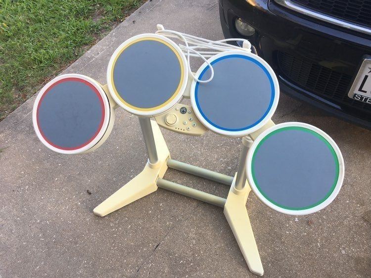 Wired Rockband drumset