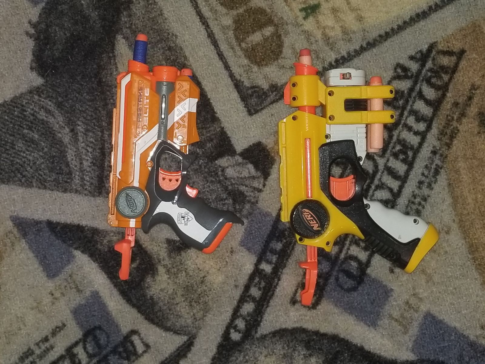 nerf firestrike and firestrike elite bun