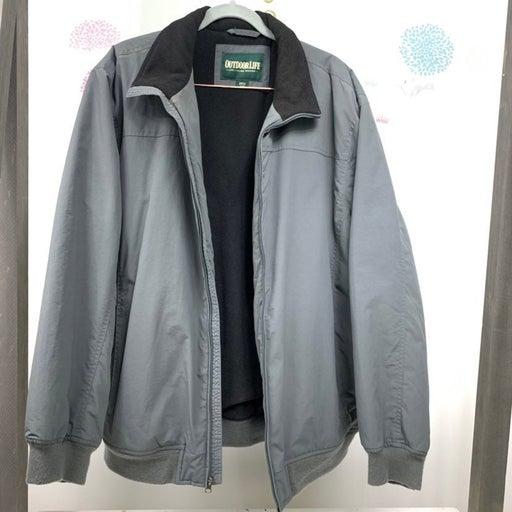 Outdoor Life Men jacket XL gray/black