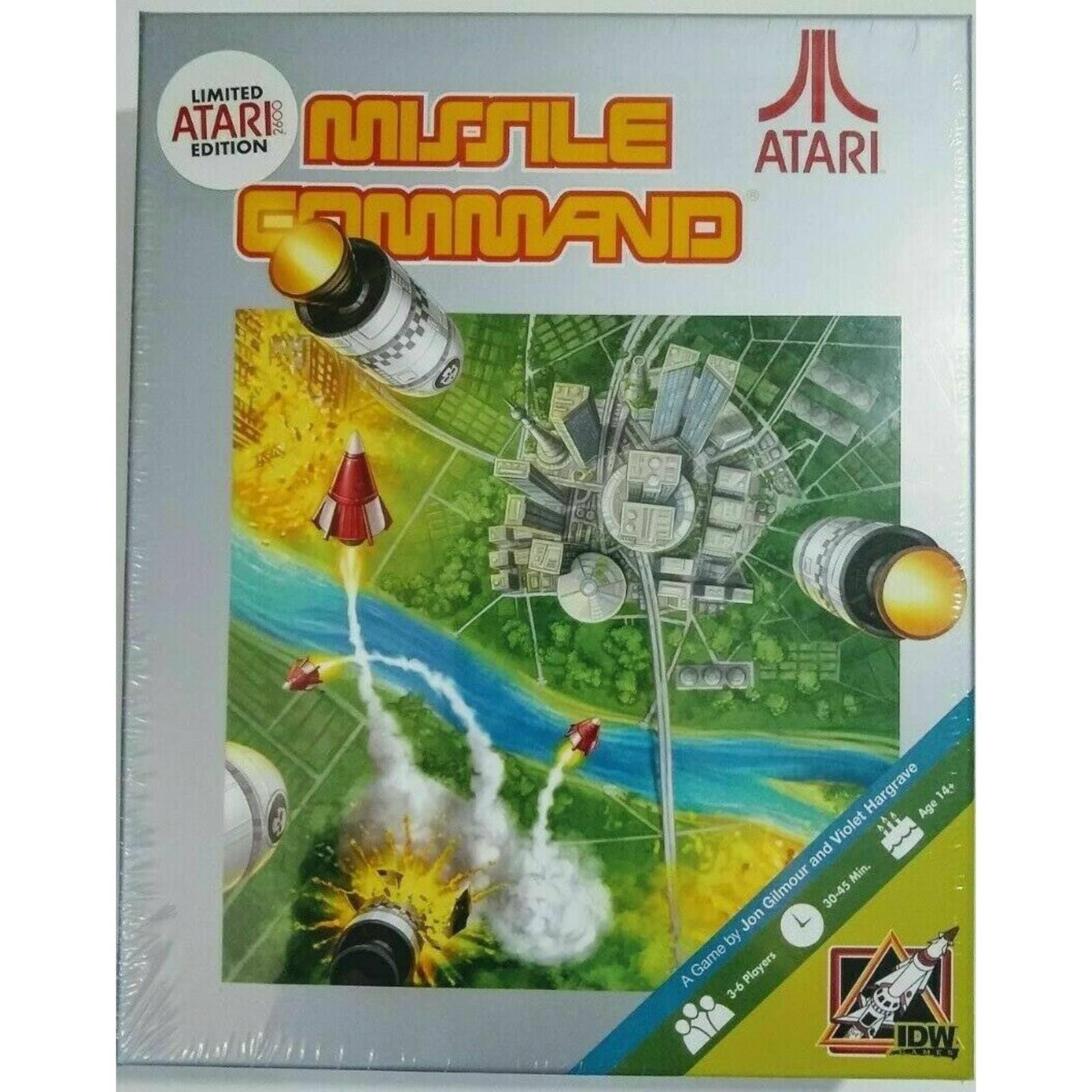 Missile Command Atari 2600 Board Game