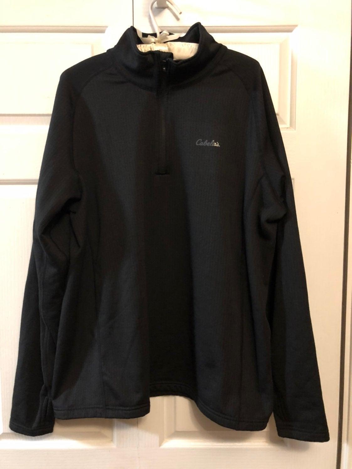 Black Cabela's Pullover