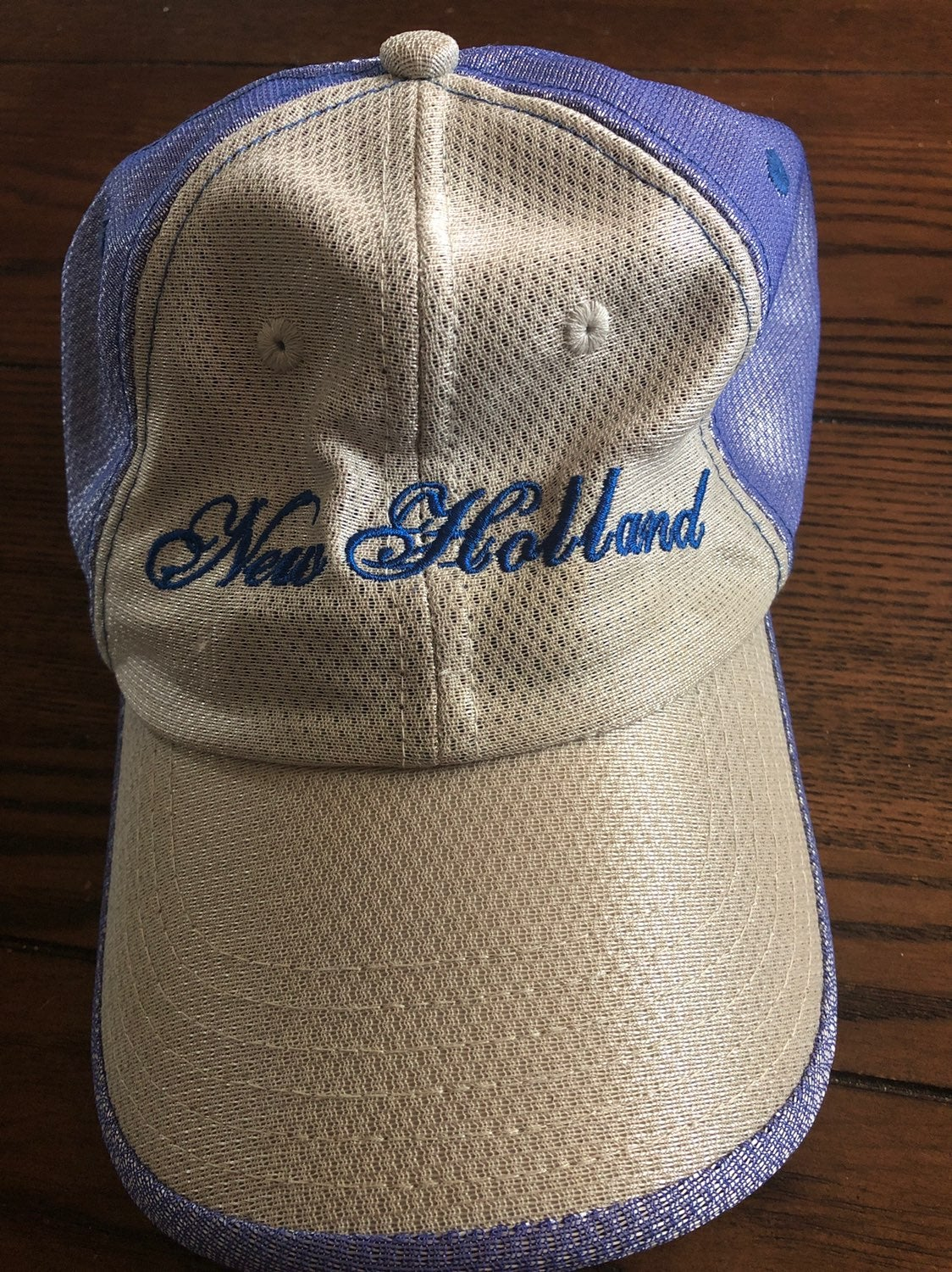 New Holland Womens Adjustable Hat Purple