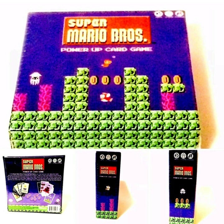 Super Mario Bros Power Up Card Game Nint