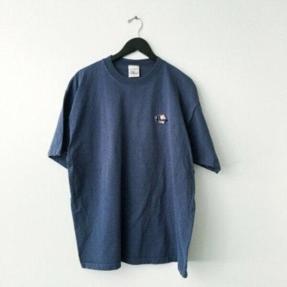 Vintage No Fear Logo Tee Shirt Beach XL