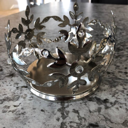 Bath And Body Works 3 Wick Snowflake Can