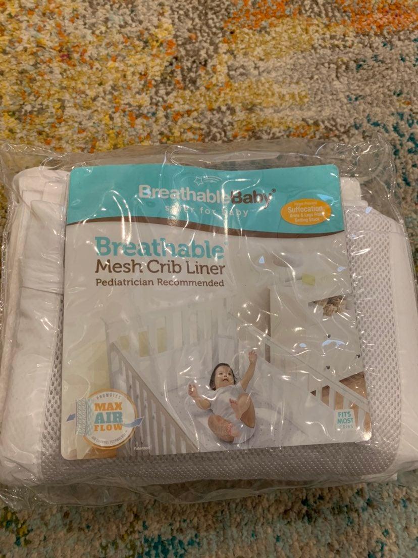 Crib liner
