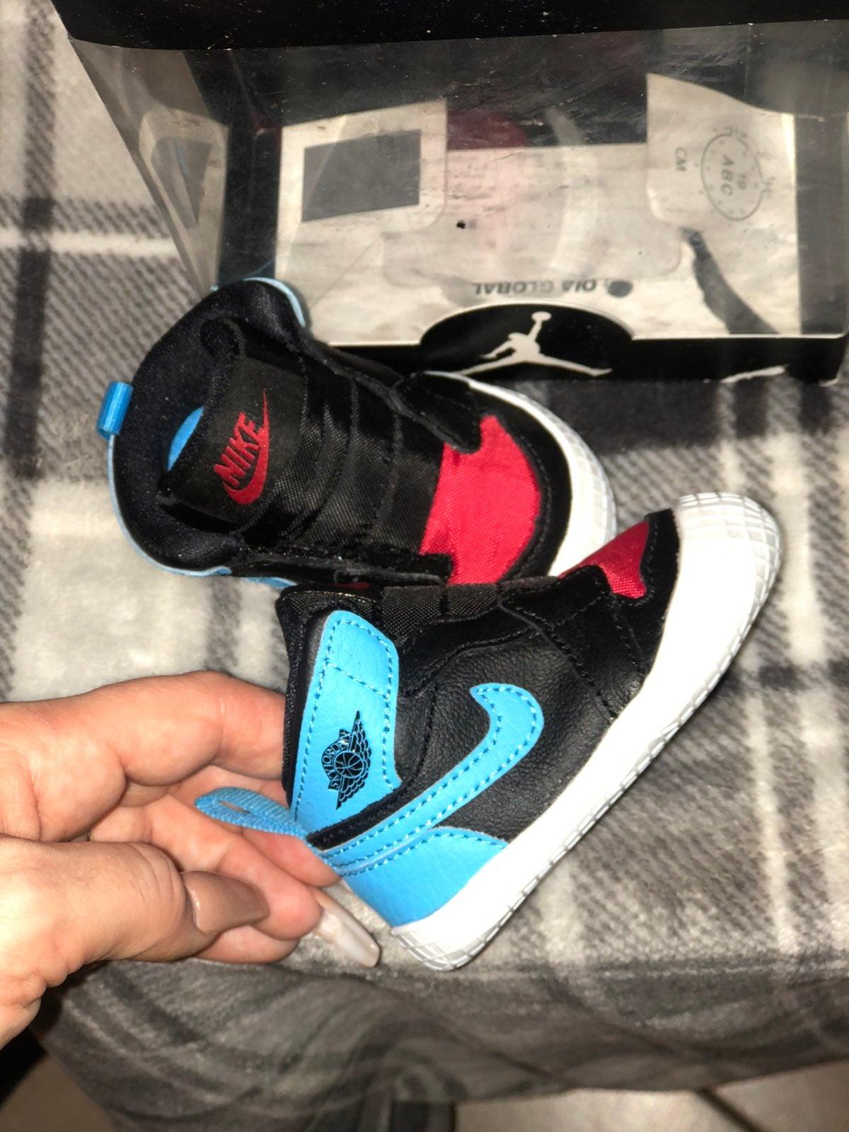 Jordan 1 crib shoes New