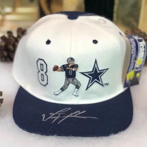 Vtg NWT NFL Cowboys Troy Aikman Hat