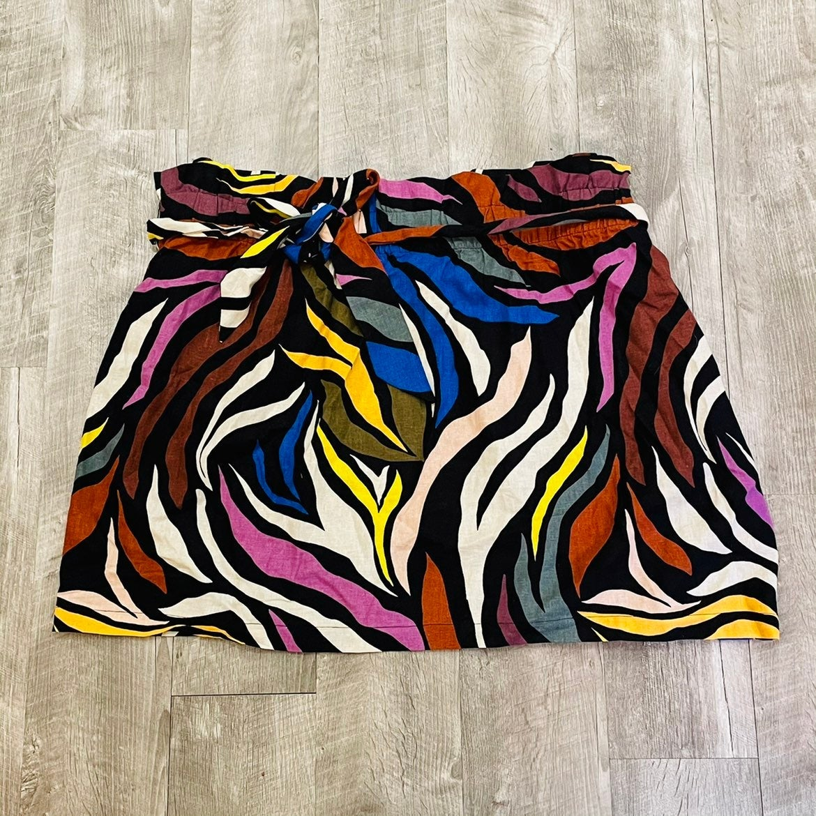 Plus size colorful skirt 3X
