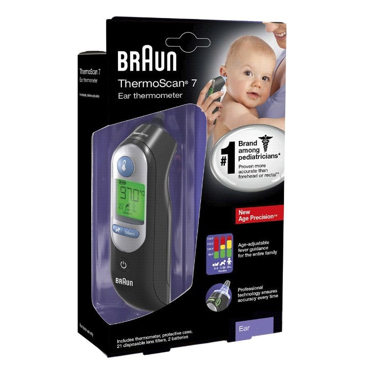 NEW!! Braun ThermoScan 7 Ear Thermometer