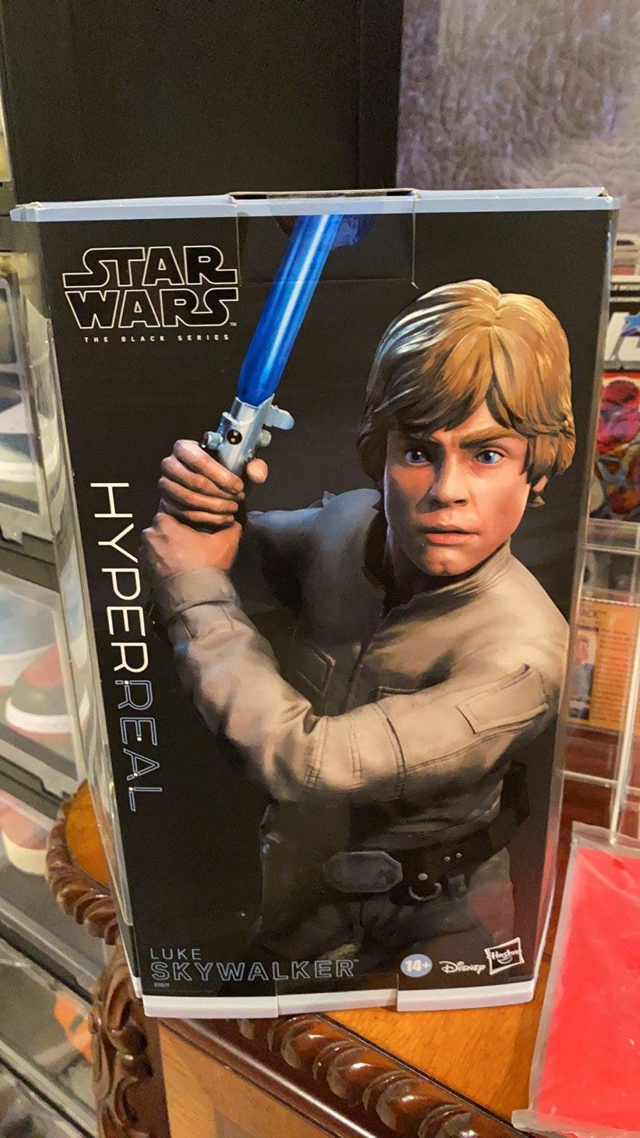 Luke skywalker hyper real