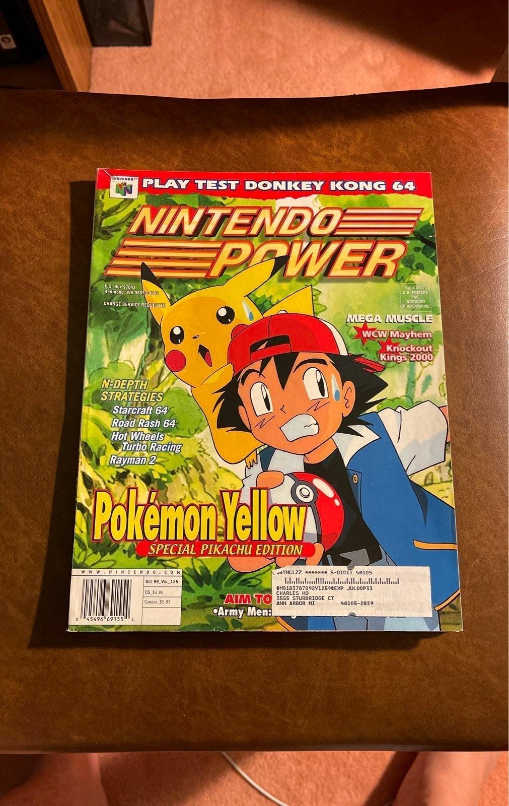Nintendo Power #125
