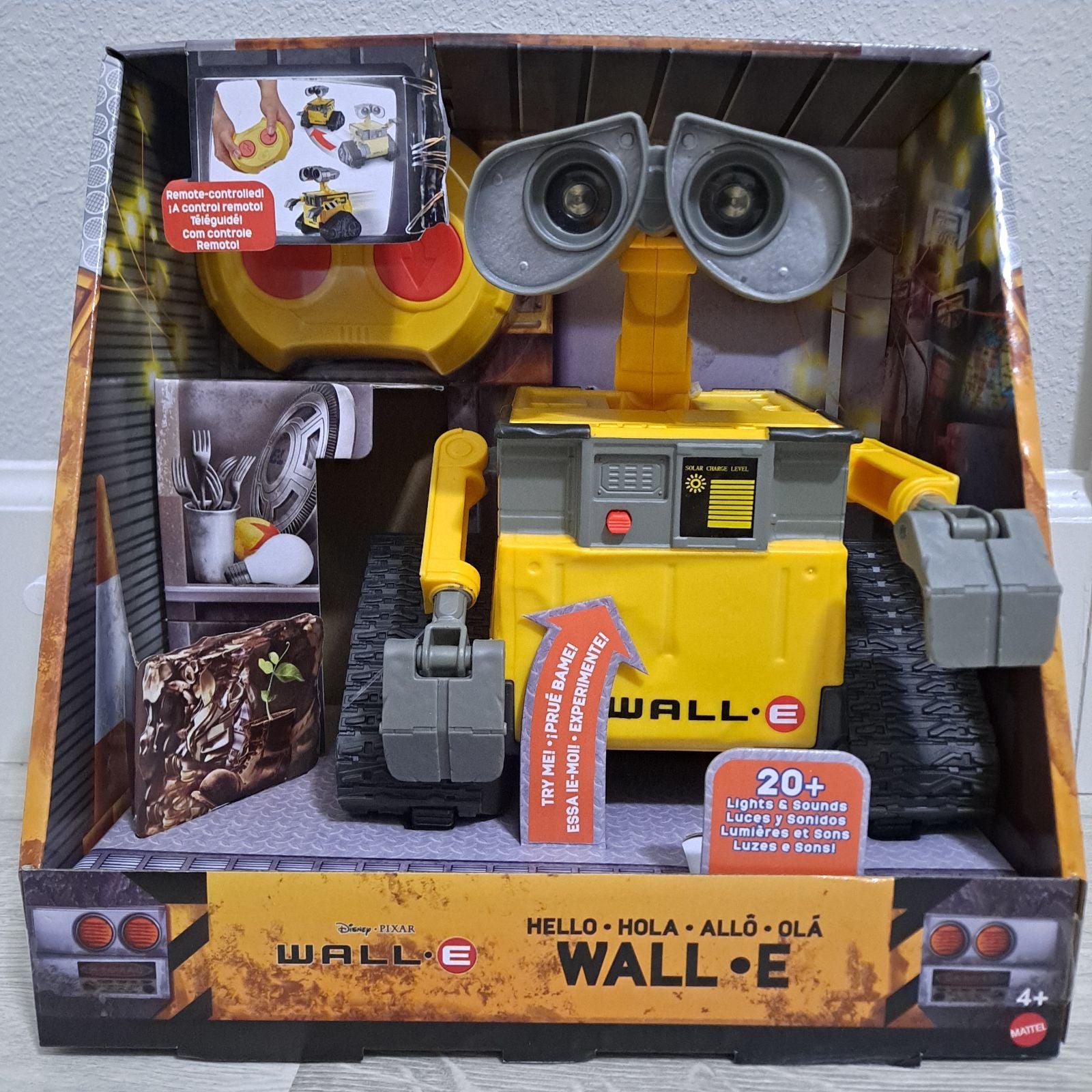 Wall-E Talking Remote Control Robot