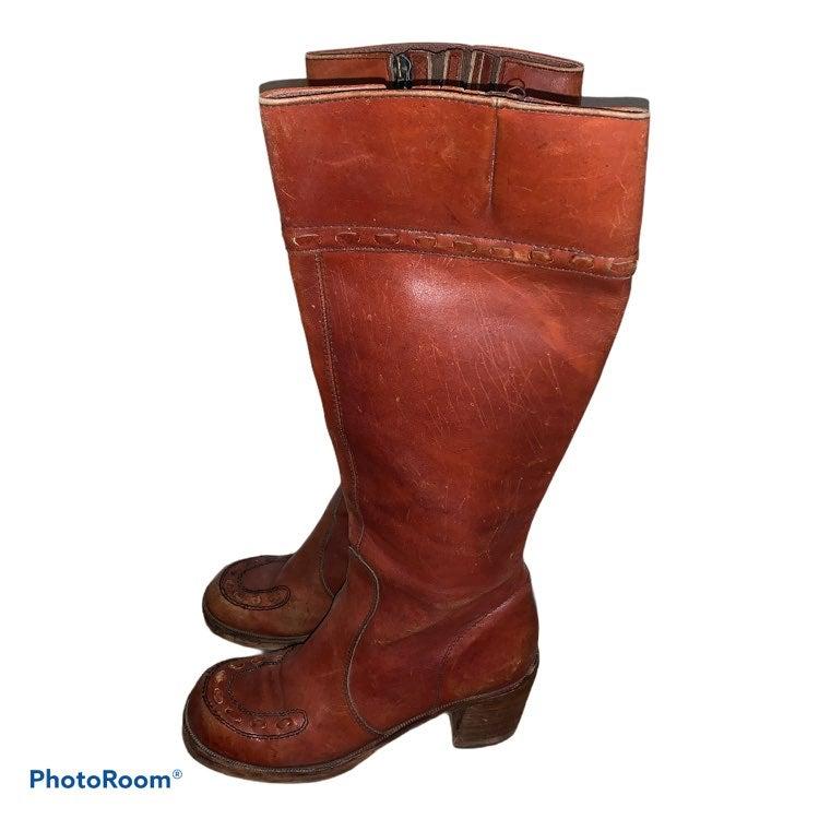 Vintage 70's Horseshoe Campus Boots