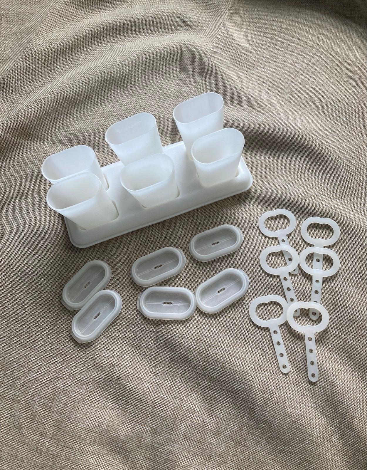 Vintage Tupperware Ice Tups Popsicle Set