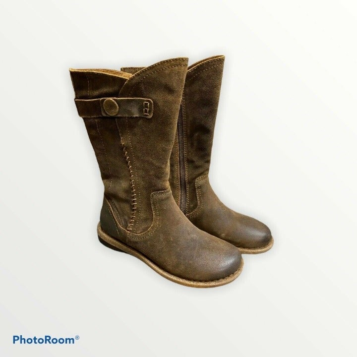 Born Tonic Rust Distressed Brown Boots