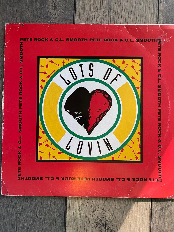 """Pete rock & C.L. 12"""" vinyl-lots of lovin"""