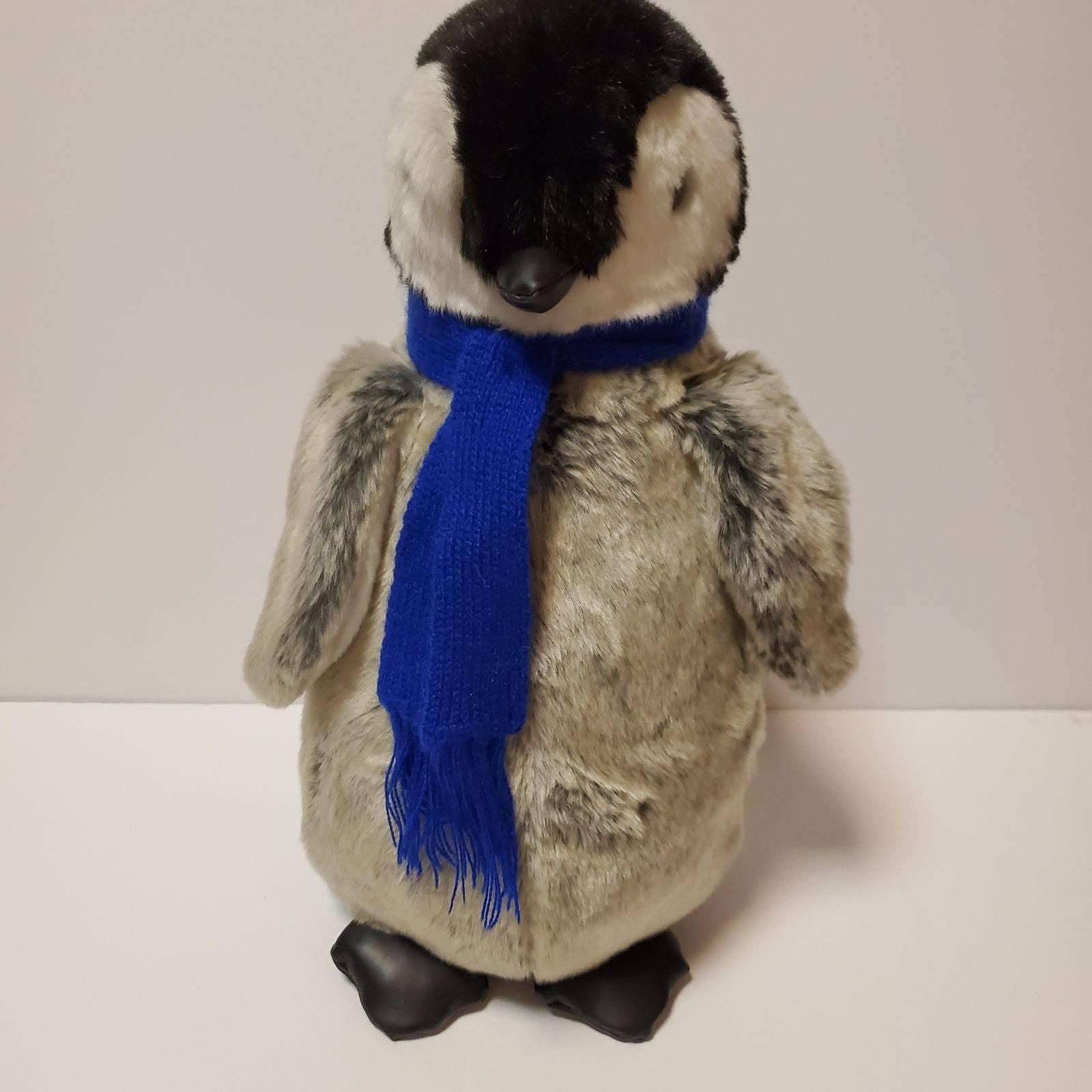 """14"""" Ditz Design Hen House Gray Penguin"""