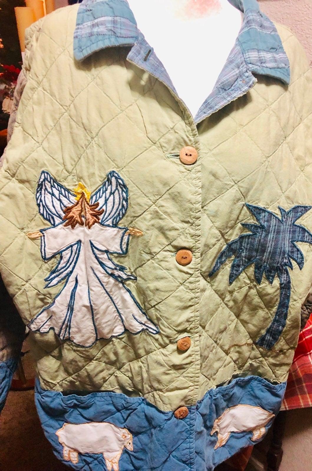 Patch Magic nativity jacket