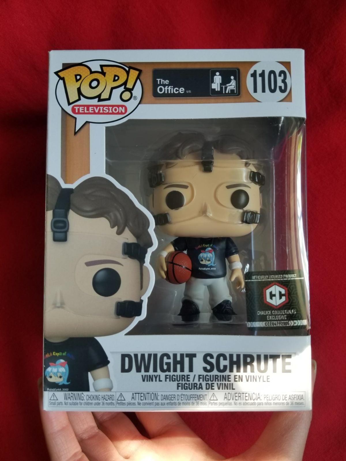 Basketball Dwight Schrute Funko Pop CC!