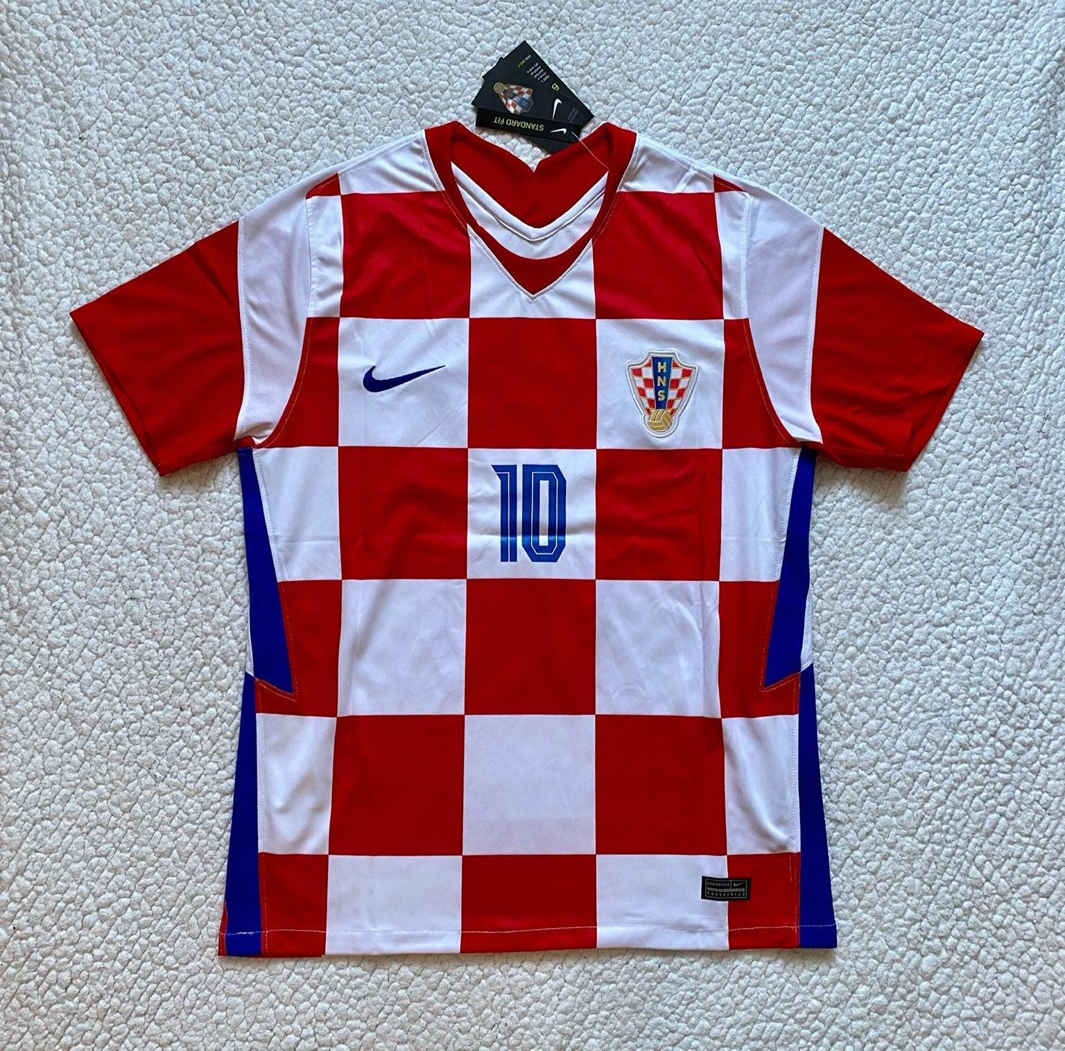 Luka Modric Croatia Home Soccer Jersey