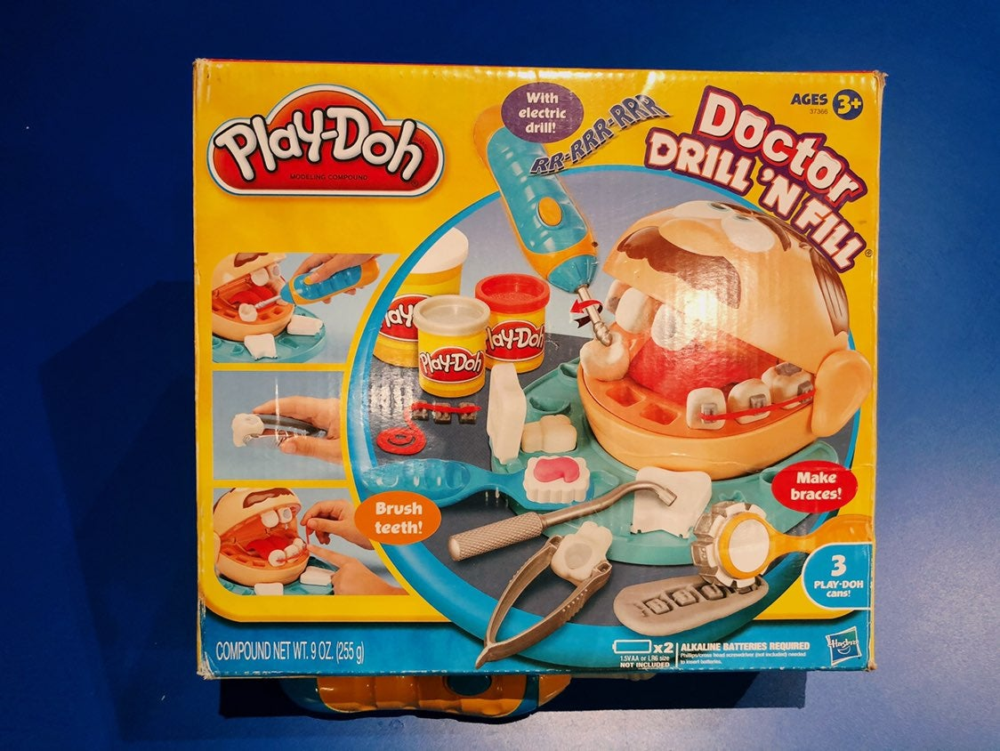 Doctor Drill and Fill Play-Doh playset