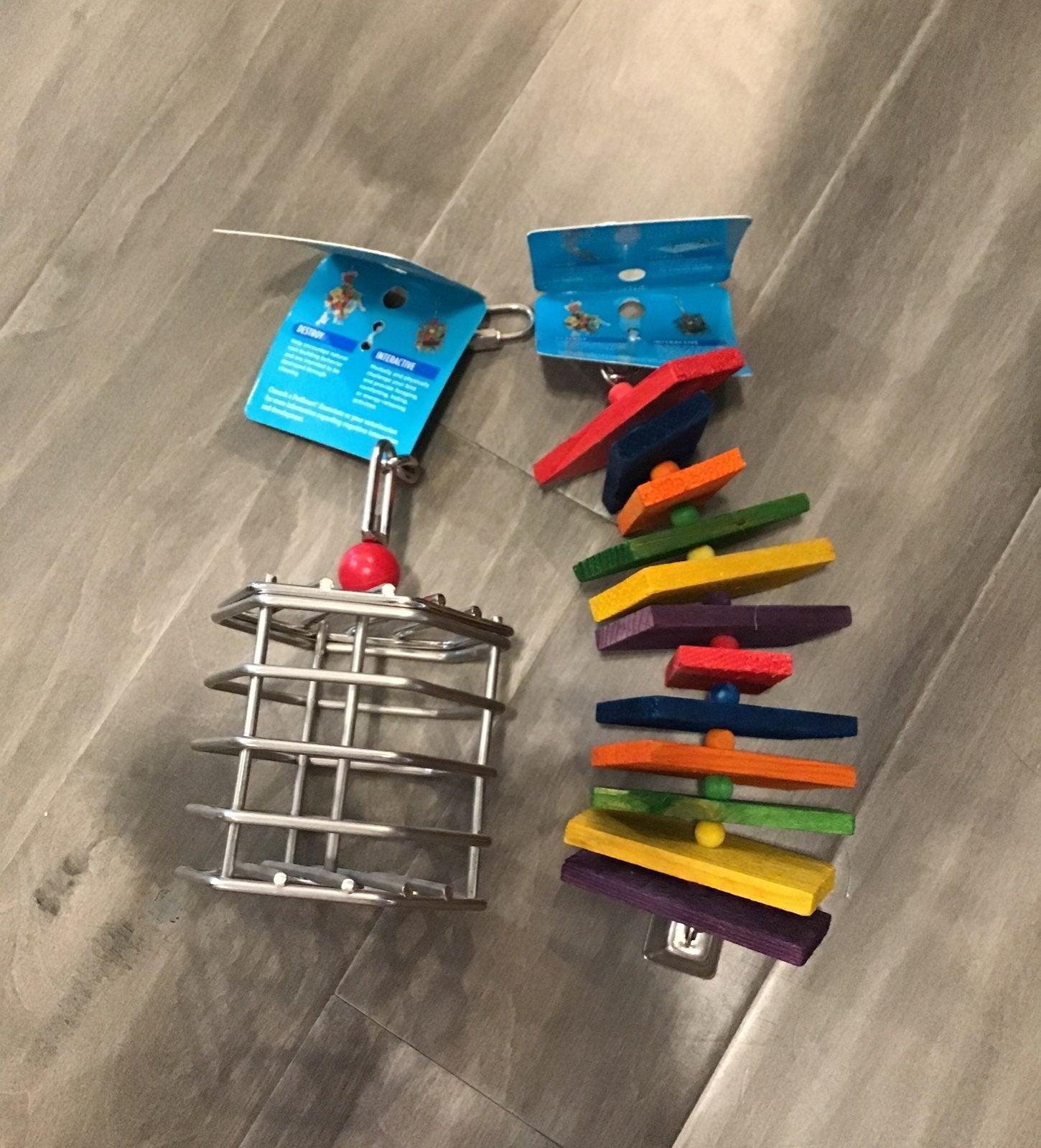 Nwt bird toys for medium to large birds