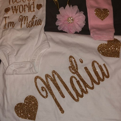 Personalized Coming Home Outfit