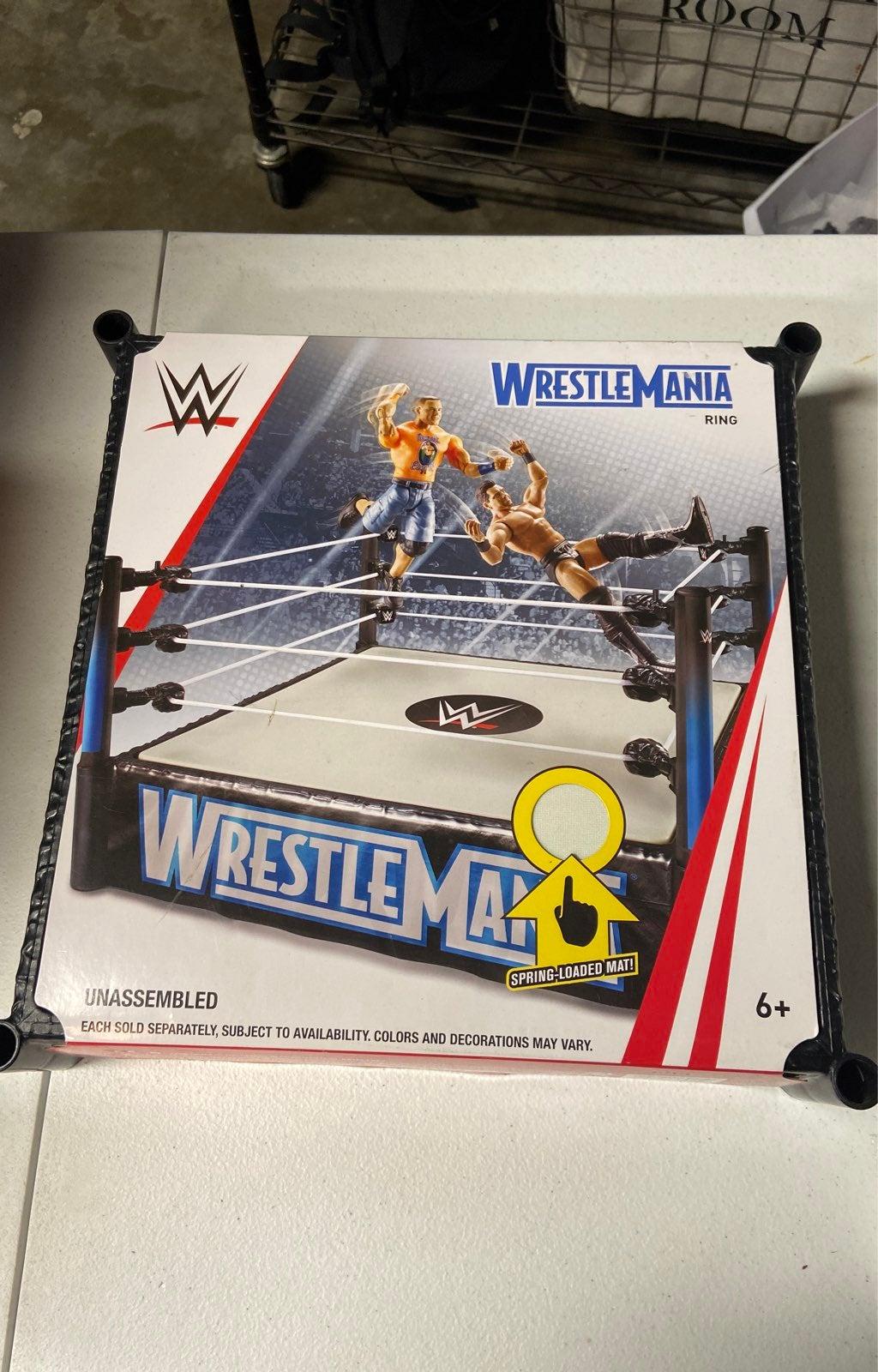 New WWE WrestleMania wrestling ring