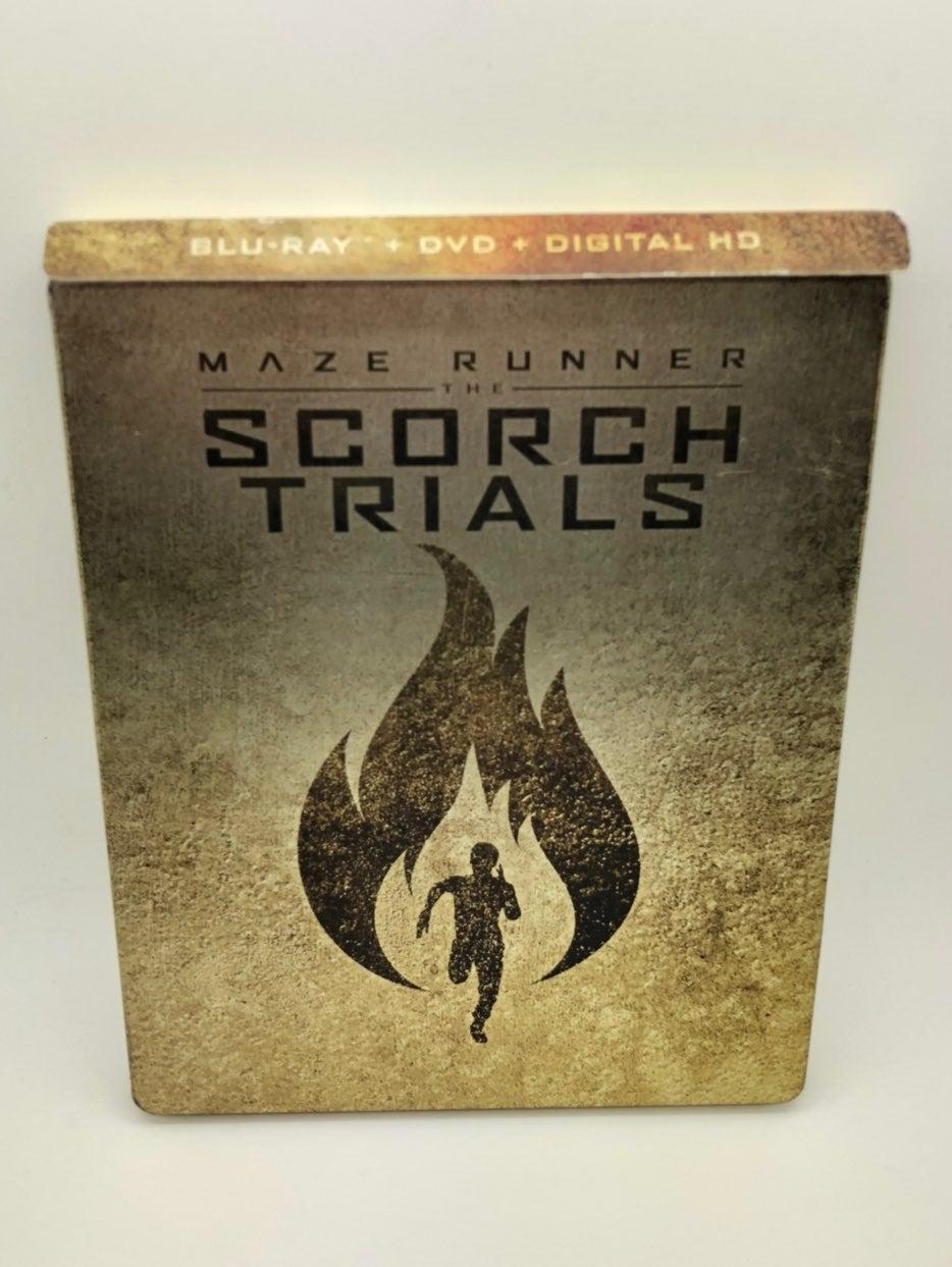 Maze Runner: The Scorch Trials SteelBook