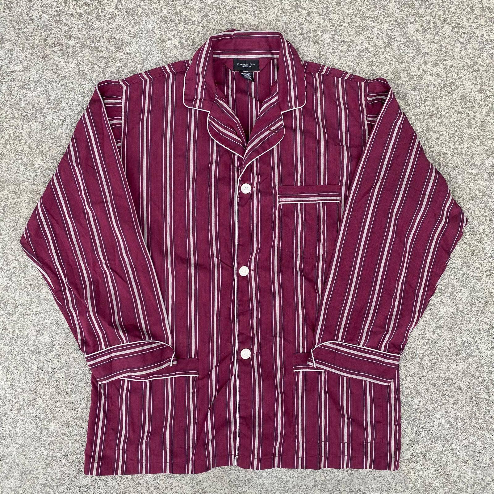 Christian Dior 1980's Pajama Shirt