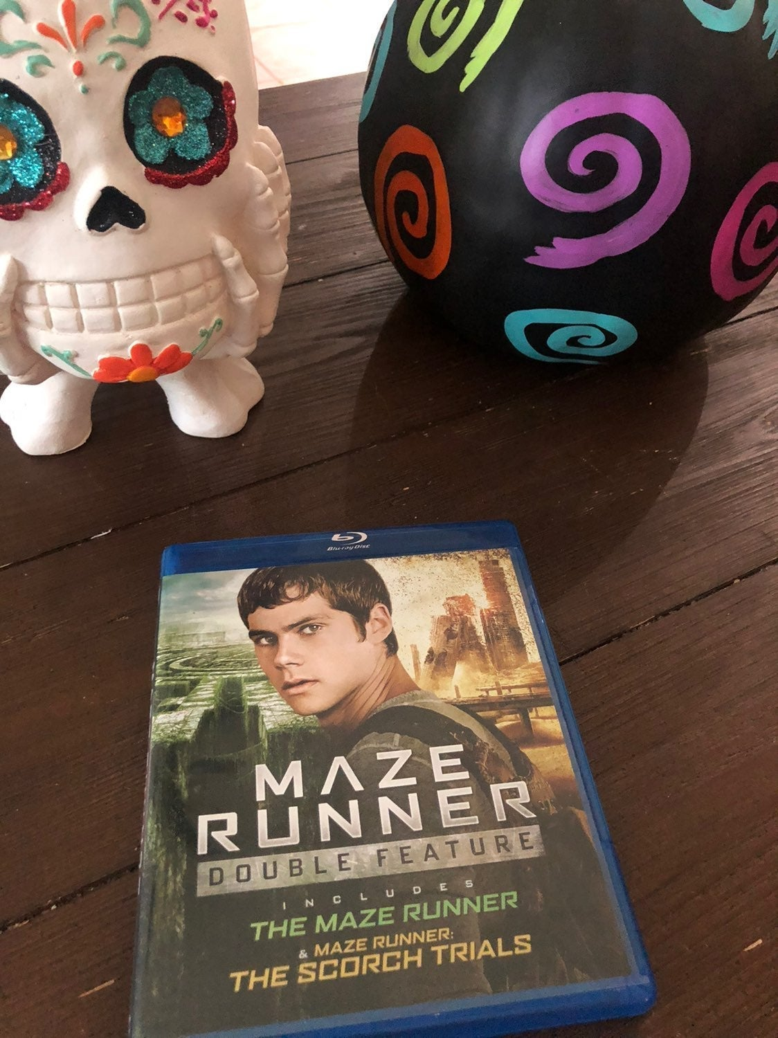 Maze Runner 1 and 2 on Blu Ray
