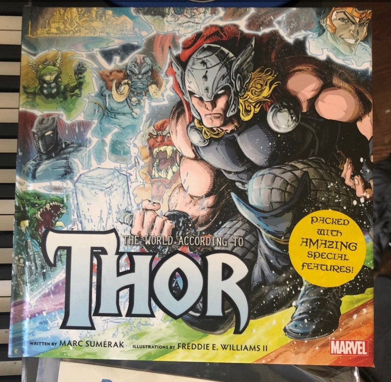 the world according to Thor special book
