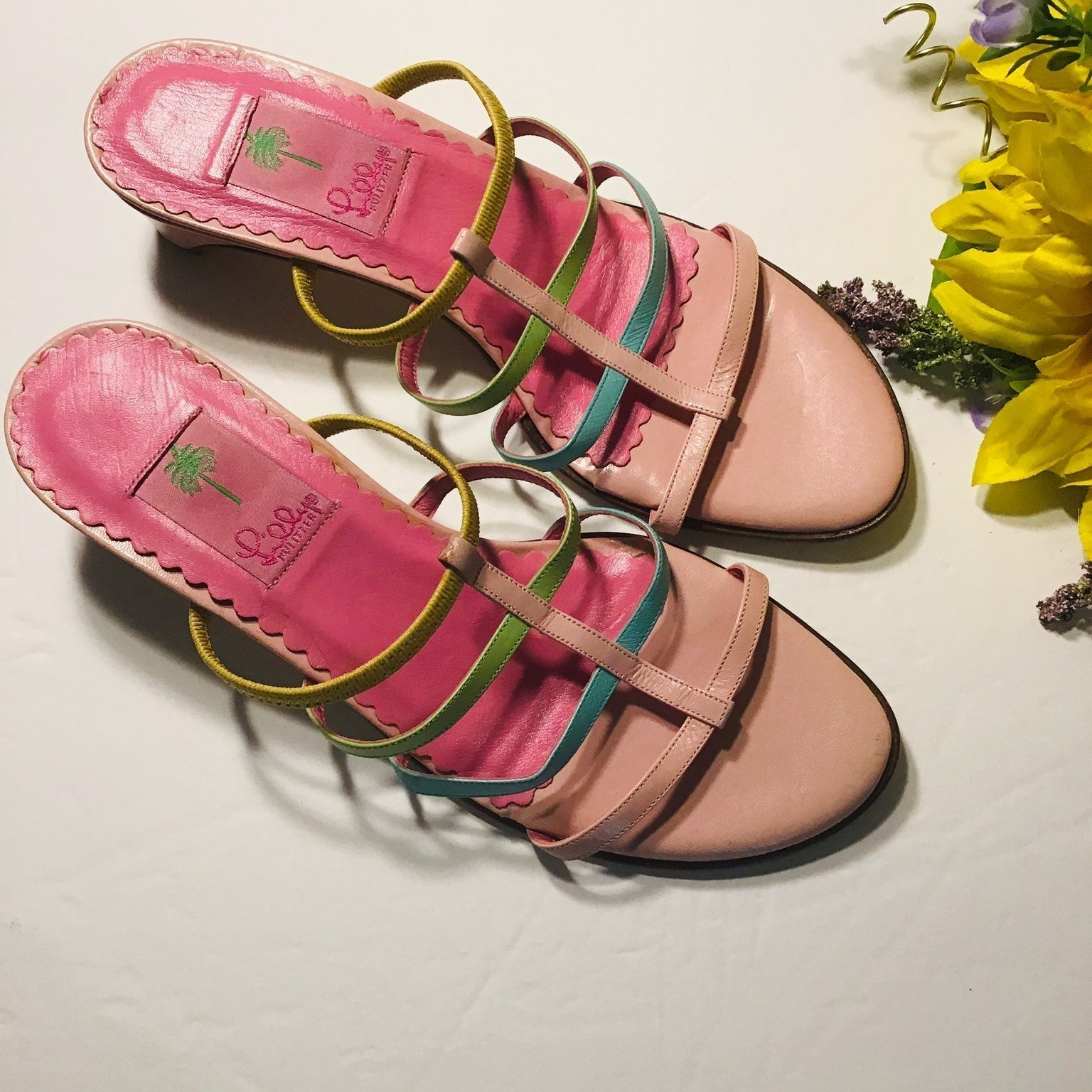 Lilly Pulitzer sandals NWOT NO BOX