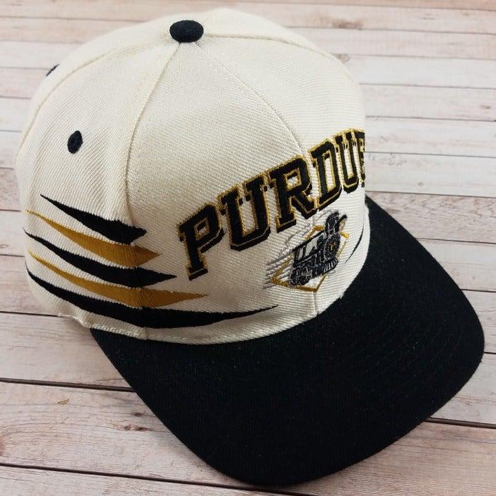 VTG 1990s Purdue Boilmakers Diamond Hat