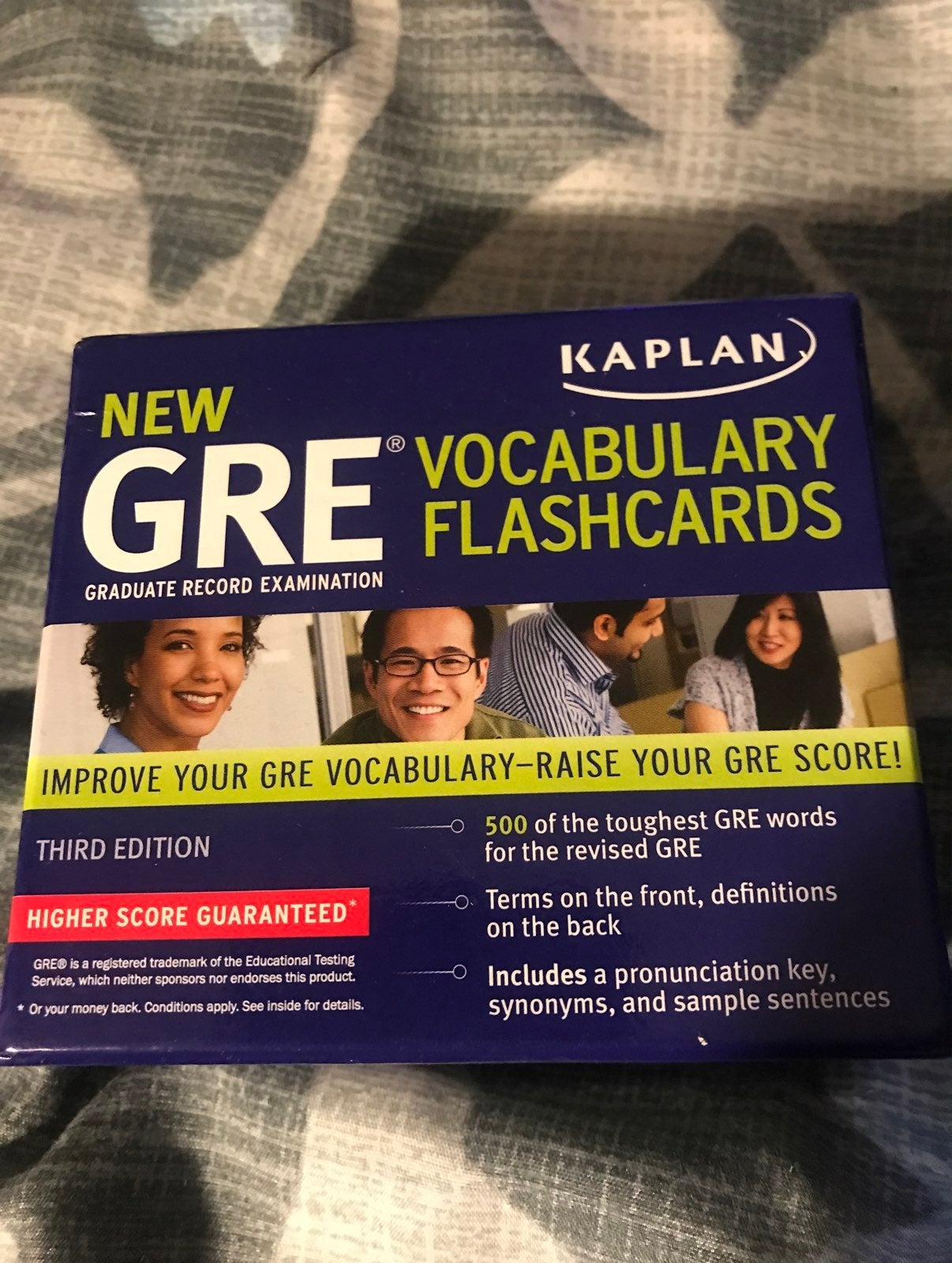 KAPLAN GRE vocab flashcards 3rd edition