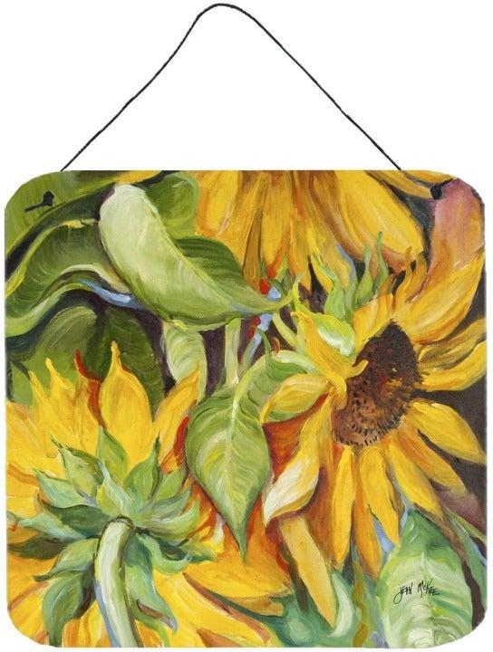 Caroline's Treasures Sunflowers Wall or Door Hanging Prints, 6x6, Multicolor
