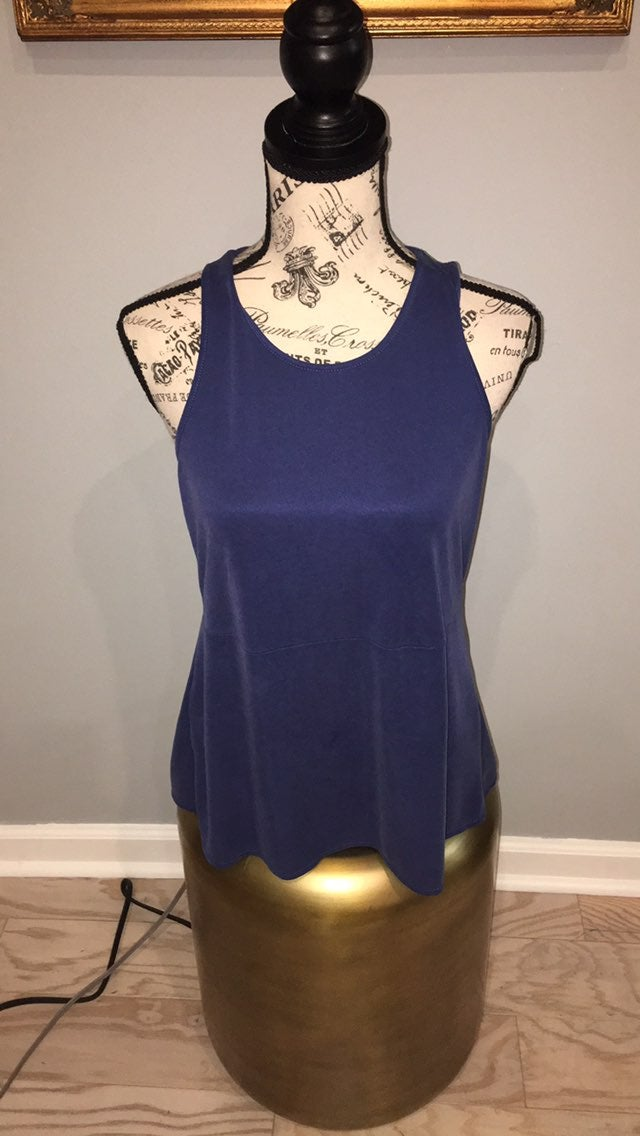 BCBGMaxazria blue blouse