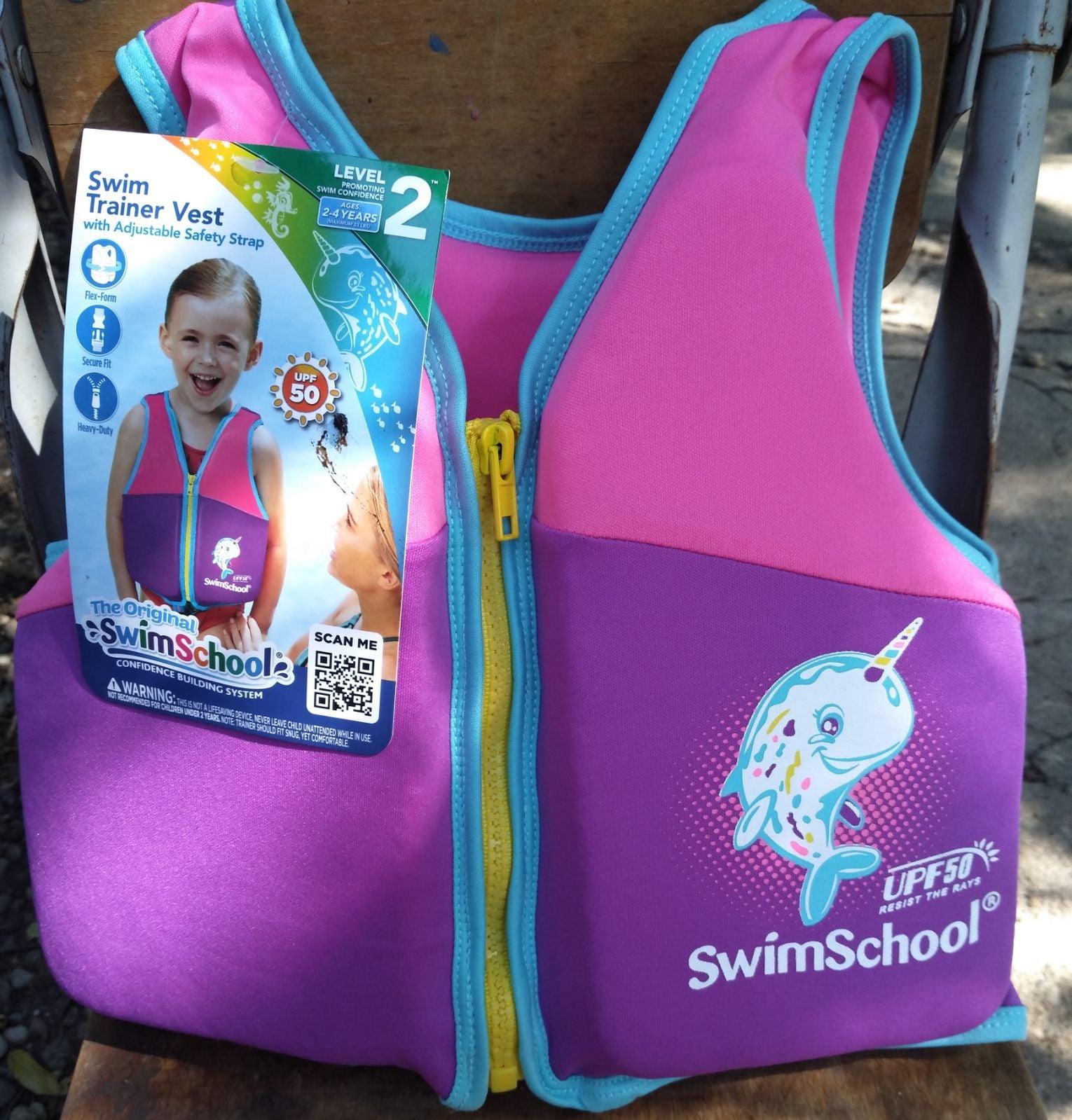 Aqua Girls Swim Vest * Brand New *