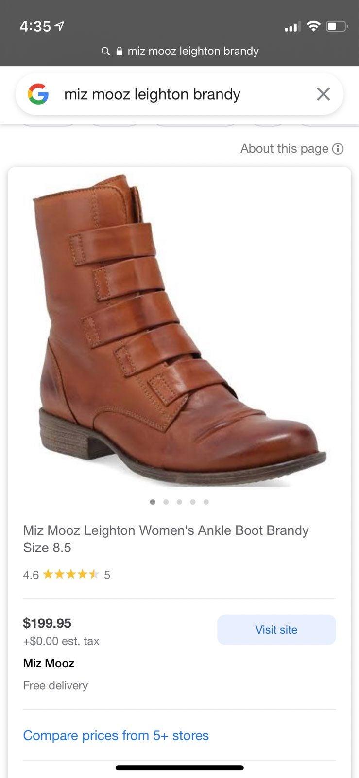 miz mooz leighton brandy boots