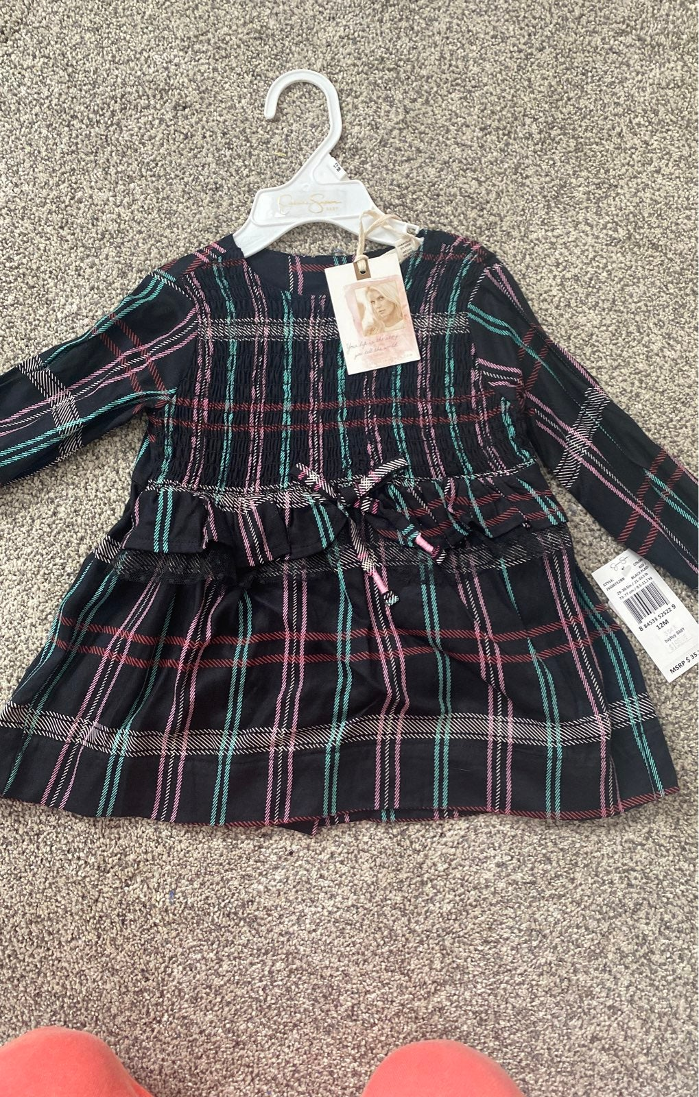 Jessica Simpson dress with bloomers 12 m