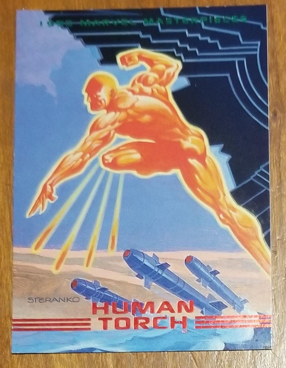 1993 Marvel Masterpiece Steranko 3 cards