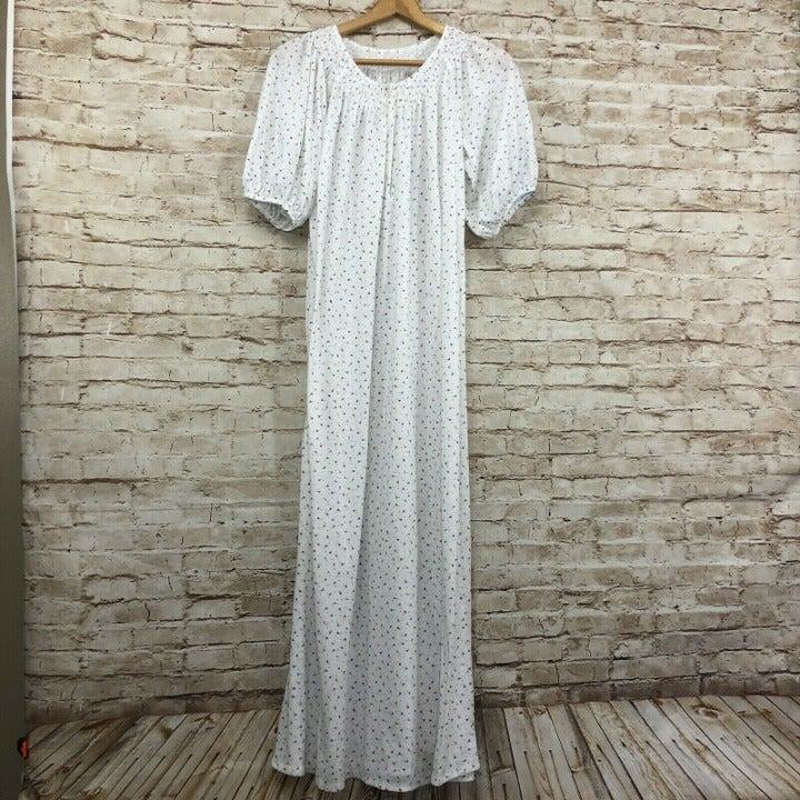 Vintage Floral Cottagecore Nightgown