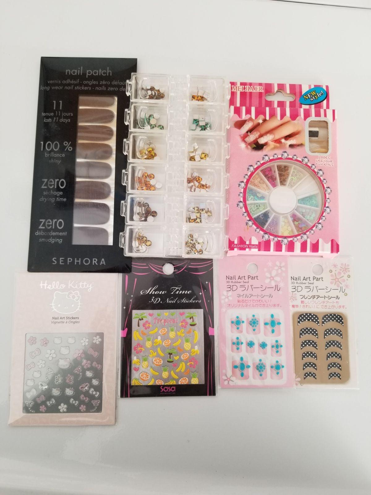Hello Kitty Nail Stickers & Variety